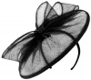 Failsworth Millinery Sinamay Disc in Navy