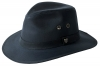 Failsworth Millinery Wax Drifter Fedora (Latest Version) in Navy