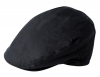 Failsworth Millinery Wax Flat Cap in Navy