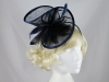 Molly and Rose Layered Headpiece in Navy