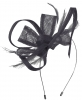 Max and Ellie Flower Fascinator in Navy