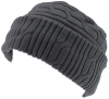SSP Hats Thermal Patterned Fleece Beanie Hat in Navy