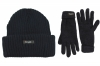 SSP Hats Thinsulate Chunky Beanie with Matching Gloves in Navy