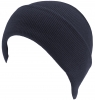 SSP Hats Stretchy One Size Unisex Warm Beanie Hat in Navy