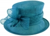 Failsworth Millinery Loops Wedding Hat in Neptune