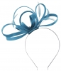 Failsworth Millinery Satin Loops Aliceband Fascinator in Neptune