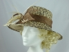 Nikita Rose Design Animal Print Wedding / Events Hat