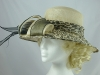 Nikita Rose Design Cream Animal Print Hat