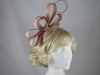 Molly and Rose Loops and Quills Headpiece in Nude