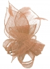 Molly and Rose Sinamay Comb Fascinator in Nude