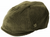 Failsworth Millinery Cord Hudson Baker Boy Cap in Olive
