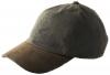 Failsworth Millinery Wax Baseball Cap in Olive