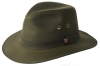 Failsworth Millinery Wax Drifter Fedora (Latest Version) in Olive