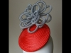 Esther Louise Millinery Crin Smartie Hat in Orange