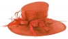 Max and Ellie Ascot Hat in Orange