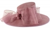 Failsworth Millinery Bow Ascot Hat in Orchid
