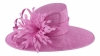 Failsworth Millinery Ascot Hat in Orchid