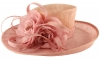 Hawkins Collection Flower Events Hat in Pale Pink & Salmon