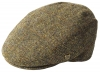 Failsworth Millinery Stornoway Harris Tweed Flat Cap (Latest Version) in Pattern 2013 - Brown