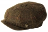 Failsworth Millinery Carloway Harris Tweed Baker Boy Cap (Latest Version) in Pattern 2017 - Mocha