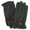 Failsworth Millinery Harris Tweed Gloves in Pattern 2018 - Grey