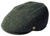 Failsworth Millinery Stornoway Harris Tweed Flat Cap (Latest Version) in Pattern 2018 - Grey