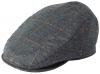 Failsworth Millinery Silk Mix Sports Cap in Pattern 194 - Grey