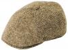 Failsworth Millinery Wexford Tweed Bakerboy Cap in Pattern 304 - Beige