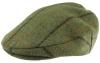 Boardmans Wool Flat Cap with Teflon Coating in Pattern 310 - Green