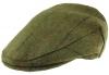 Boardmans Wool Flat Cap with Teflon Coating in Pattern 311 - Green
