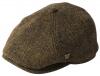 Failsworth Millinery Hudson Harris Six Piece Cap in Pattern 31 - Brown