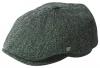 Failsworth Millinery Hudson Harris Six Piece Cap in Pattern 32 - Grey