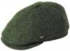 Failsworth Millinery Hudson Harris Six Piece Cap in Pattern 33 - Dark Green