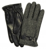 Failsworth Millinery Harris Tweed Gloves in Pattern 4615 - Grey