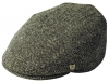 Failsworth Millinery Stornoway Harris Tweed Flat Cap (Latest Version) in Pattern 4615 - Grey