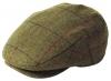 Failsworth Millinery Waterproof Porelle Flat Cap in Pattern 517