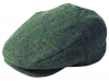Failsworth Millinery Waterproof Porelle Flat Cap in Pattern 534