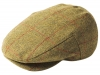 Failsworth Millinery Waterproof Porelle Flat Cap in Pattern 554