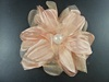 Pearl Flower Corsage in Peach