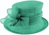Failsworth Millinery Loops Wedding Hat in Peacock