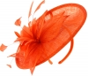 Failsworth Millinery Mini Disc in Persimmon