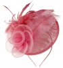 Aurora Collection Rose and Feather Disc in Pink
