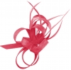 Aurora Collection Sinamay Loops Comb Fascinator in Pink