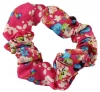 Daisy Daisy Small Floral Scunchy in Pink