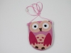 Girls Owl Bag in Pink