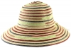 Hawkins Collection Multicoloured Straw Hat in Pink