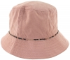 Hawkins Collection Reversible Leopard Print Bucket Sun Hat in Pink