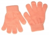 Magic Childrens Stretchy Gloves in Pink