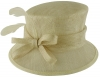 Failsworth Millinery Wedding Hat in Platinum