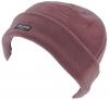 Thinsulate Ladies Fleece Beanie Hat in Plum